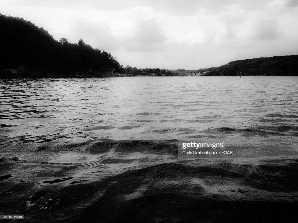 Scenic view of lake : Stock Photo