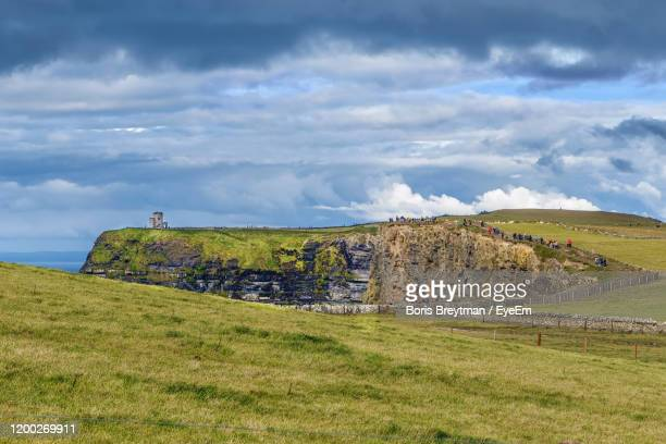 scenic view of land against sky - boris stock pictures, royalty-free photos & images