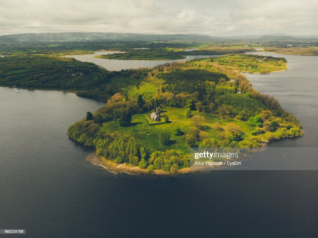 Scenic View Of Land Against Sky : Stock Photo