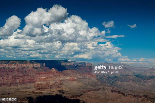 scenic view of landscape against cloudy sky - josh utley stock pictures, royalty-free photos & images