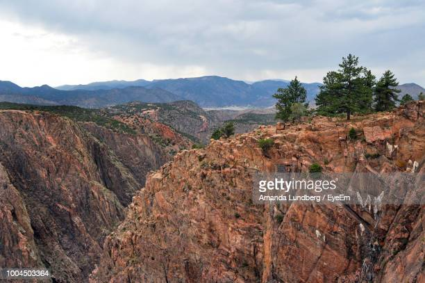 scenic view of landscape against sky - amanda and amanda stock pictures, royalty-free photos & images