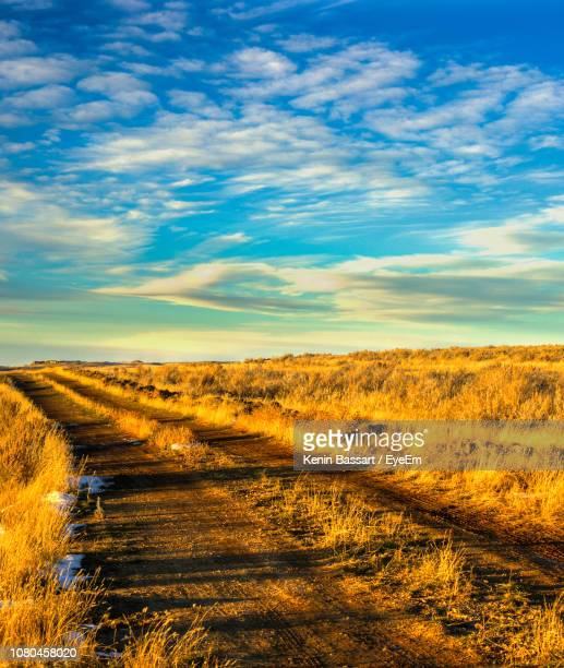 scenic view of landscape against sky - kenin stock pictures, royalty-free photos & images