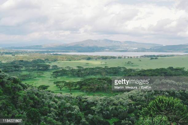 scenic view of landscape against sky - east africa stock pictures, royalty-free photos & images