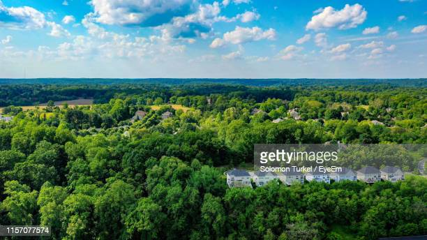 scenic view of landscape against sky - solomon turkel stock pictures, royalty-free photos & images