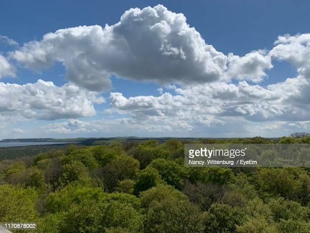 scenic view of landscape against sky - nancy green stock pictures, royalty-free photos & images