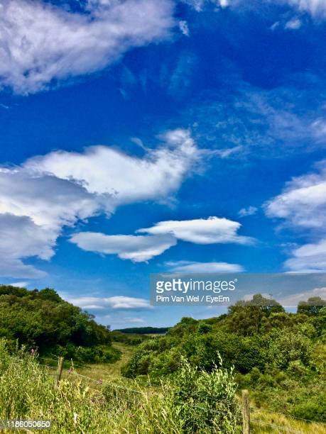 scenic view of landscape against sky - 2017 stock pictures, royalty-free photos & images