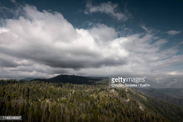 scenic view of landscape against sky - christian soldatke imagens e fotografias de stock