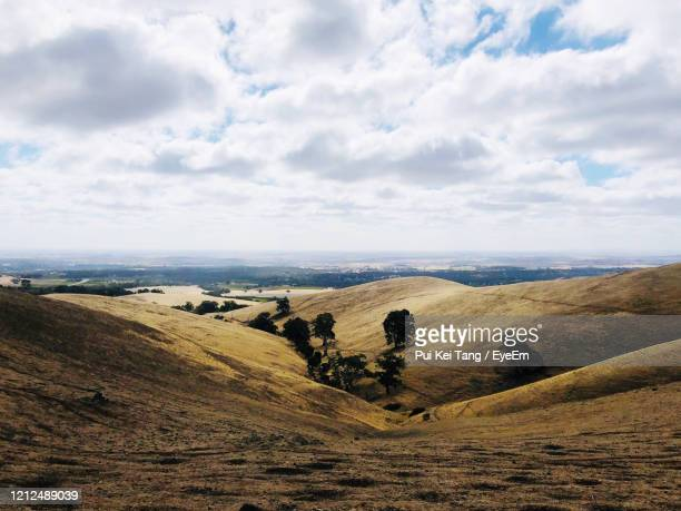 scenic view of landscape against sky - barossa valley stock pictures, royalty-free photos & images