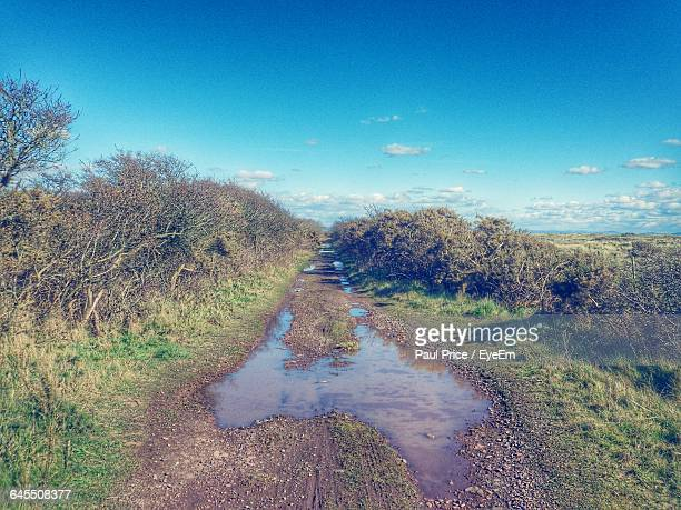 scenic view of landscape against sky - llanelli stock pictures, royalty-free photos & images