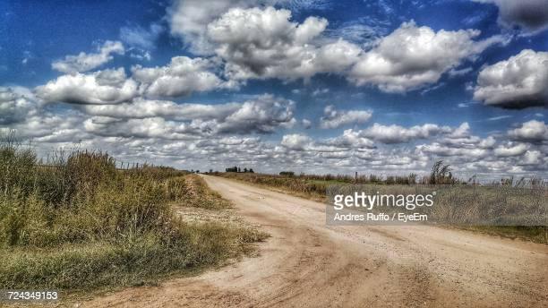 scenic view of landscape against sky - andres ruffo stock pictures, royalty-free photos & images
