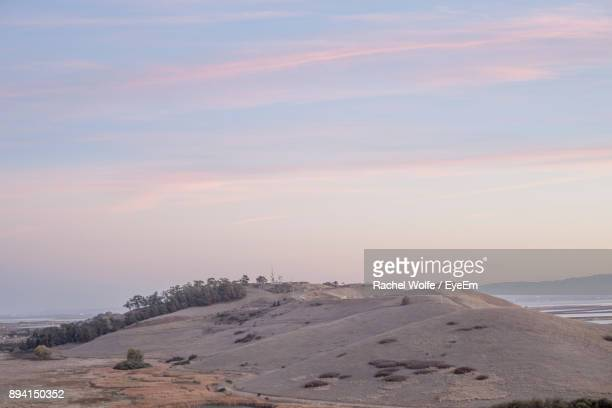 scenic view of landscape against sky - rachel wolfe stock pictures, royalty-free photos & images