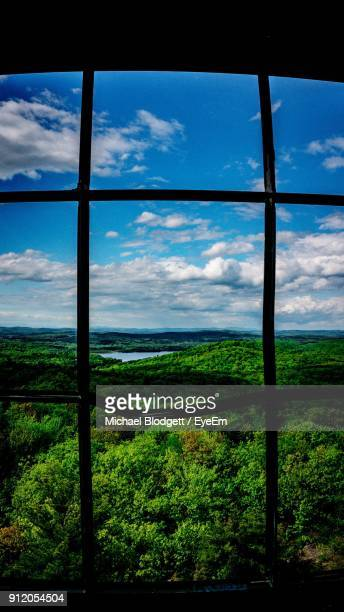 scenic view of landscape against sky - michael blodgett stock pictures, royalty-free photos & images