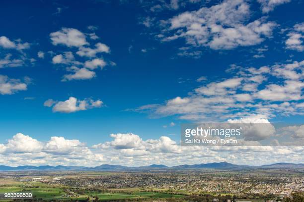 scenic view of landscape against sky - tamworth australia stock pictures, royalty-free photos & images