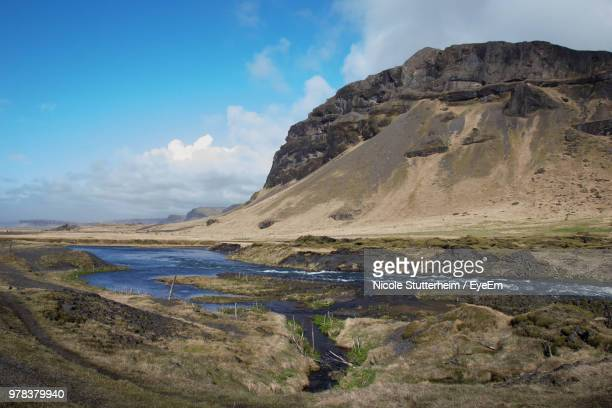 scenic view of landscape against sky - stutterheim stock pictures, royalty-free photos & images