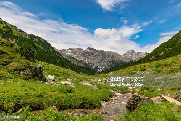 scenic view of landscape against sky,dalaas,vorarlberg,austria - vorarlberg stock pictures, royalty-free photos & images