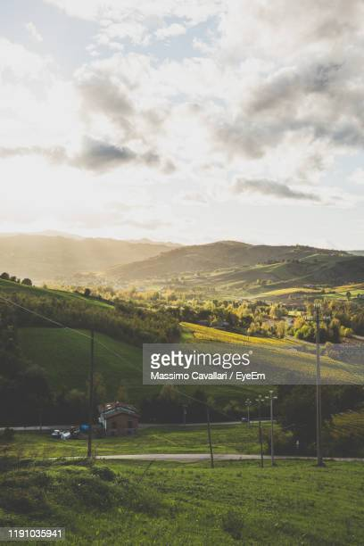 scenic view of landscape - massimo cavallari stock pictures, royalty-free photos & images