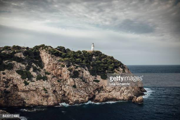 Scenic View Of Lighthouse at Cala Ratjada