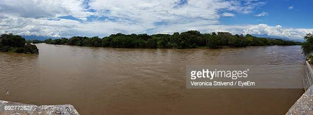 Scenic View Of Magdalena River