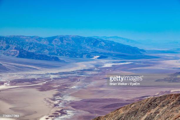 Scenic View Of Mojave Desert At Death Valley National Park