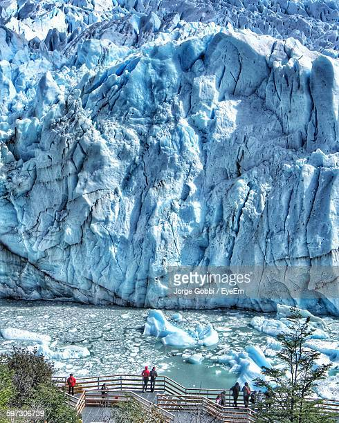 Scenic View Of Moreno Glacier