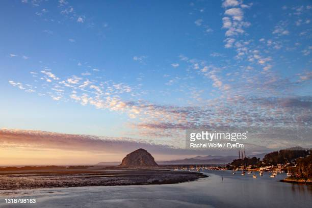 scenic view of morro bay state park in central california. - rachel wolfe stock pictures, royalty-free photos & images