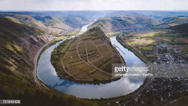 Scenic View Of Mosel Valley