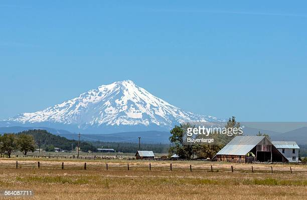 Scenic view of Mount Shasta in Northeast California