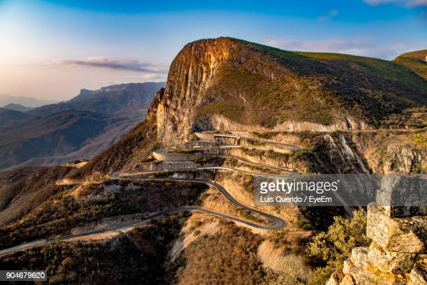 scenic view of mountain against sky - angola stock pictures, royalty-free photos & images