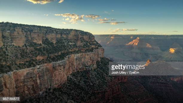 scenic view of mountain against sky - josh utley stock pictures, royalty-free photos & images