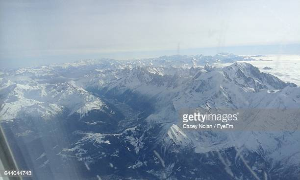 scenic view of mountain range against sky - casey nolan stock pictures, royalty-free photos & images