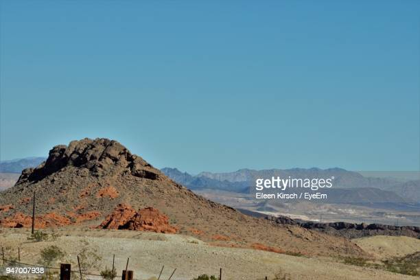 scenic view of mountains against clear blue sky - eileen kirsch stock pictures, royalty-free photos & images
