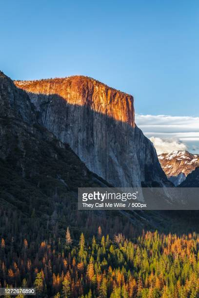 scenic view of mountains against clear sky, california, united states - central california stock pictures, royalty-free photos & images