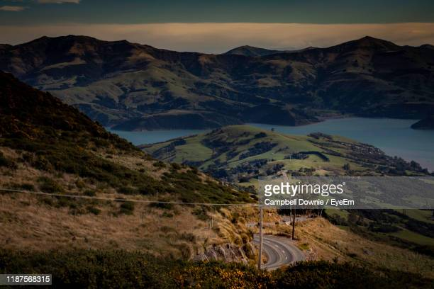 scenic view of mountains against sky at night - campbell downie stock pictures, royalty-free photos & images