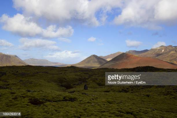 scenic view of mountains against sky - stutterheim stock pictures, royalty-free photos & images