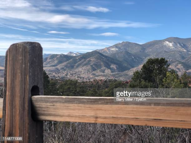 scenic view of mountains against sky - barry wood stock pictures, royalty-free photos & images