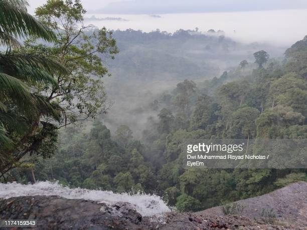 scenic view of mountains against sky - west kalimantan stock pictures, royalty-free photos & images