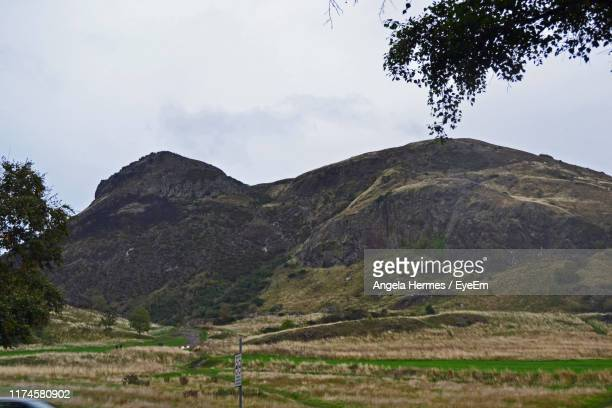 scenic view of mountains against sky - hermes stock pictures, royalty-free photos & images