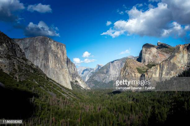 scenic view of mountains against sky - campbell downie stock pictures, royalty-free photos & images