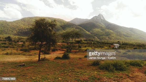 scenic view of mountains against sky - nairobi stock pictures, royalty-free photos & images