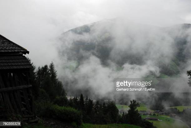scenic view of mountains against sky - gerhard schimpf stock pictures, royalty-free photos & images