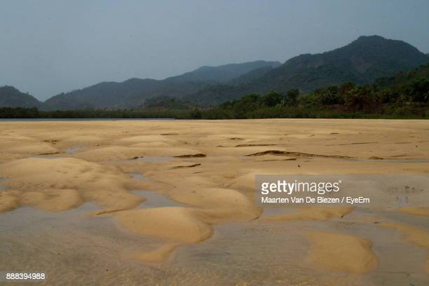 scenic view of mountains against sky - sierra leone stock pictures, royalty-free photos & images