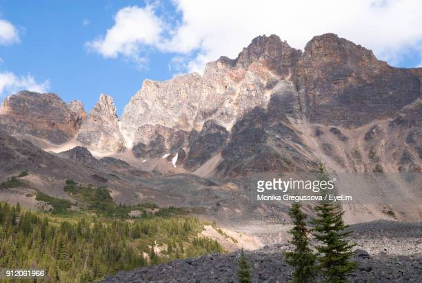 scenic view of mountains against sky - monika gregussova stock pictures, royalty-free photos & images