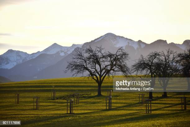scenic view of mountains against sky - anfang stock pictures, royalty-free photos & images