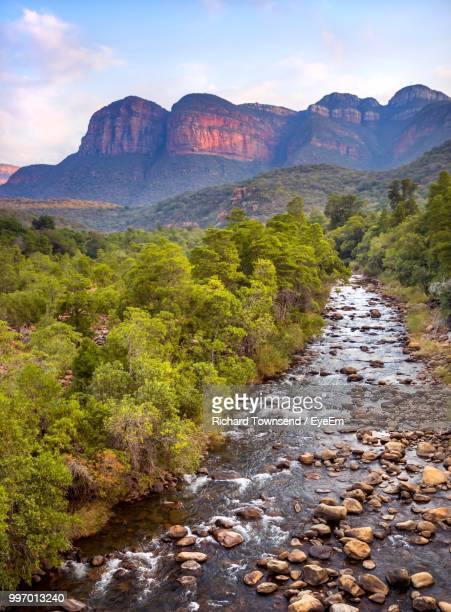 scenic view of mountains against sky - limpopo province stock pictures, royalty-free photos & images