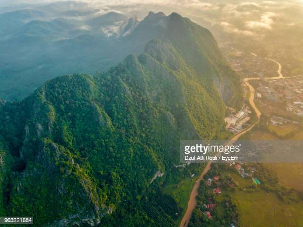 scenic view of mountains - malaysia stock pictures, royalty-free photos & images