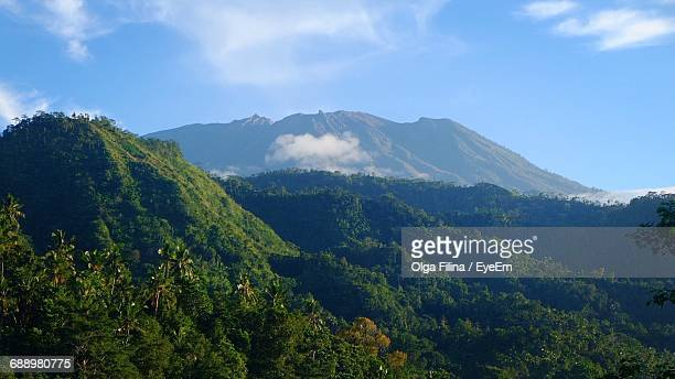 Scenic View Of Mt Agung Against Sky
