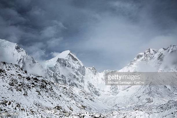 Scenic View Of Mt Everest Against Sky