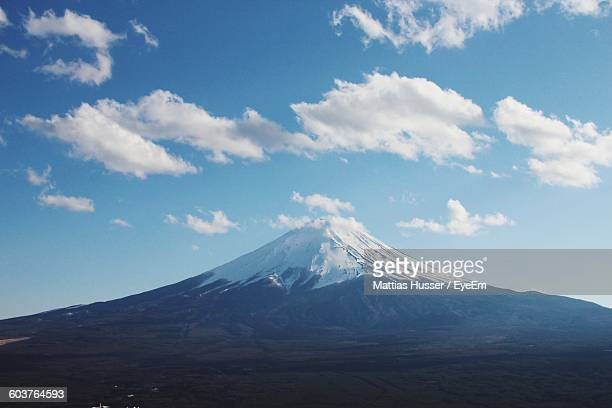 Scenic View Of Mt Fuji Against Sky