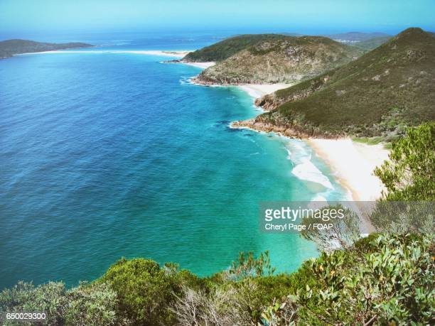 Scenic view of nelson Bay