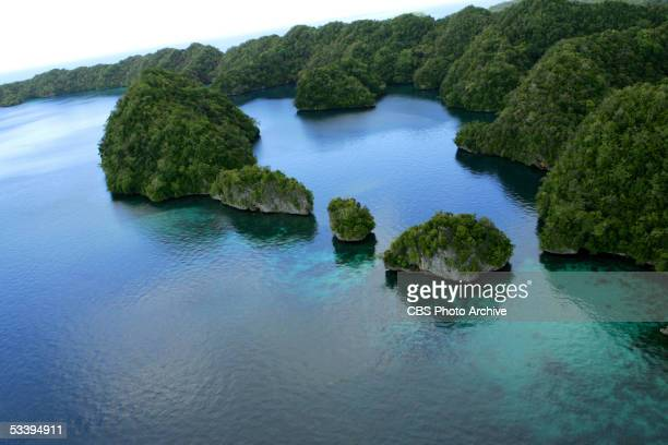 Scenic view of Palau for SURVIVOR PALAU premiering Thursday February 17 on the CBS Television Network